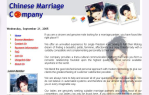 Issy Website Desgin | Chinese Marriage Company