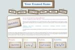 Issy Website Design | Your Framed Name