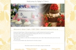 Issy Website Design | Helens Cakes