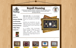 Issy Website Desgin | Royall Framing