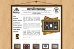 Issy Website Design | Royall Framing
