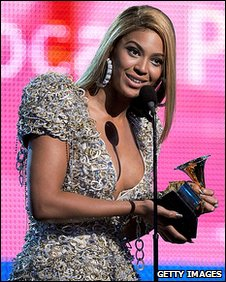Beyonce has now won a career total of 16 Grammy Awards